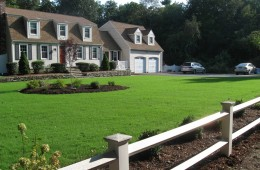 New lawn and plantings – Tyngsboro – After