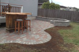 Patio, Fire Pit, and Sitting Wall – Haverhill, Ma
