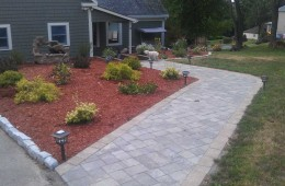 Planting with Walkway – Haverhill, MA