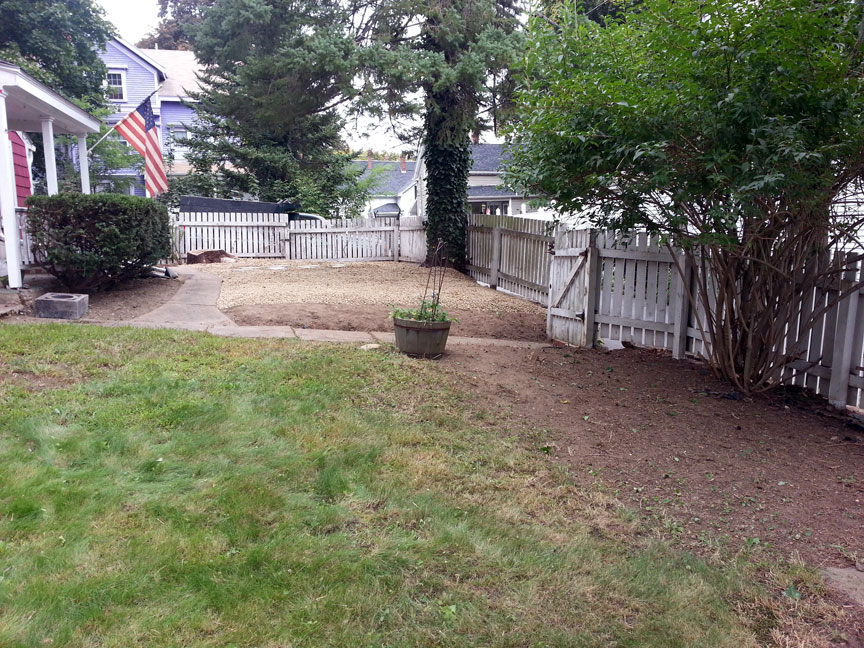 Yard Clean Up – Amesbury (After)