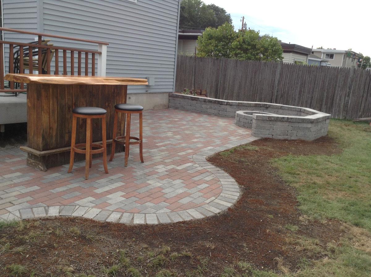 hardscape design walkways patios fire pits driveways walls