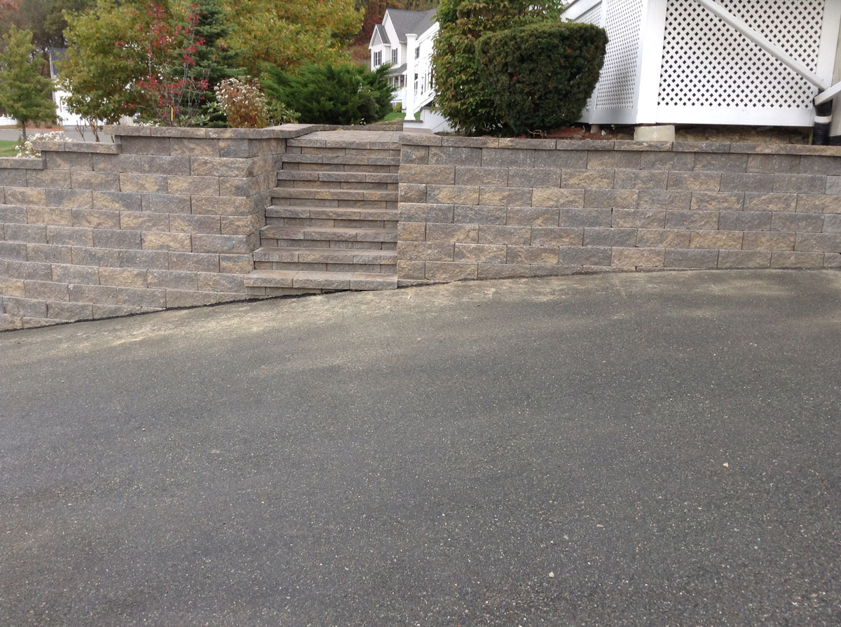 Wall, Steps, and Walkway – Bradford,  MA